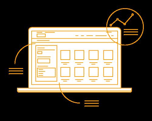 Wireframes webshop en e-commerce Presentise webdevelopment Breda
