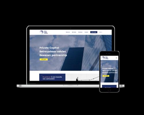 Website voorbeeld ECH Presentise webdevelopment Breda