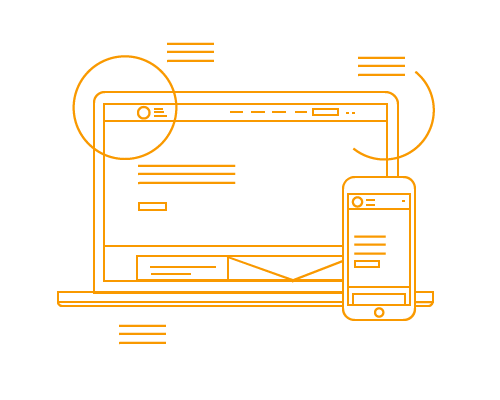 Wireframes proces Presentise webdevelopment Breda